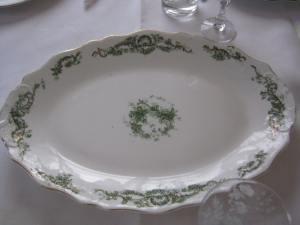 Great Grandma Hudson's platter